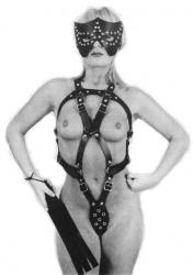 The Leather Mistress Harness