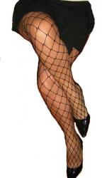 Wide Net Fishnet Tights | Strictlyleather.com