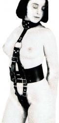 Bondage Harness Leather Slave